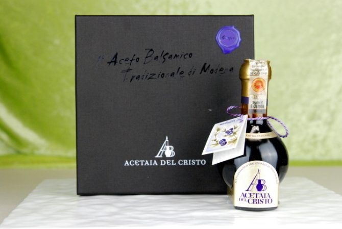 Aceto Balsamico Tradizionale Cofanetto extra vecchio Ginepro (FILEminimizer)